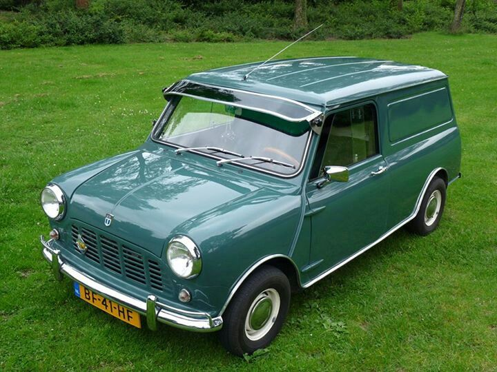 Austin Mini Van My Dad had one of these years ago