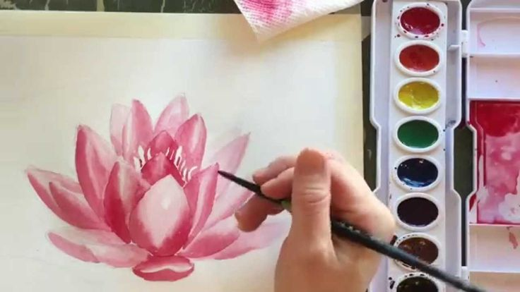 How to Paint Watercolor a Water Lilly This is one of the best watercolor videos I have ever seen.