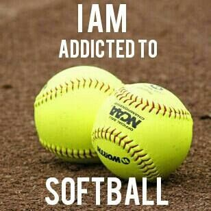 #softball  I used to be!!! It will always have my heart...and blood, sweat, and tears lol!!!