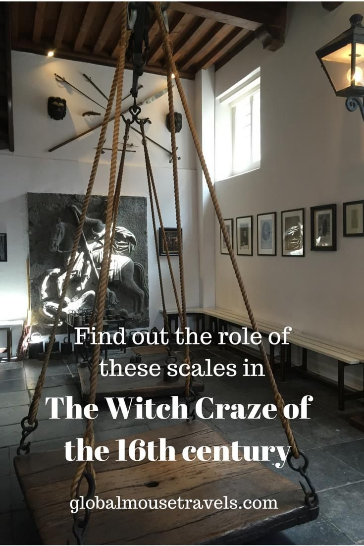 A visit to the 16th century witches weigh-house in Oudewater, Netherlands. Learn about the history of this amazing building - do you dare to stand on the original scales?! Holland