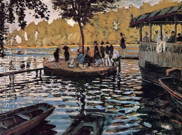 """""""La Grenouillère"""" von Claude Monet - 1869 (Städel Museum Frankfurt am Main 01.06.2015)"""