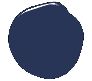 I Love The Benjamin Moore 174 Natura 174 Paint Bold Blue On