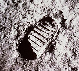 The first footprints on the Moon will be there for a million years.