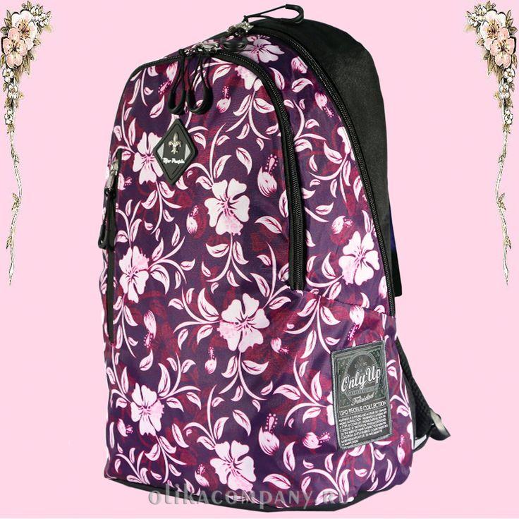 Рюкзак 7907 женский молодежный, размеры 28*15*40 см 1800 руб #сумки #рюкзак #школа #учеба