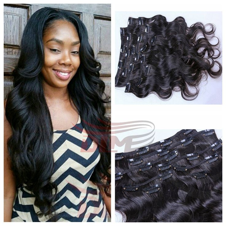 23 Best Clip Ins Images On Pinterest Braids Natural Hair And Hair Dos