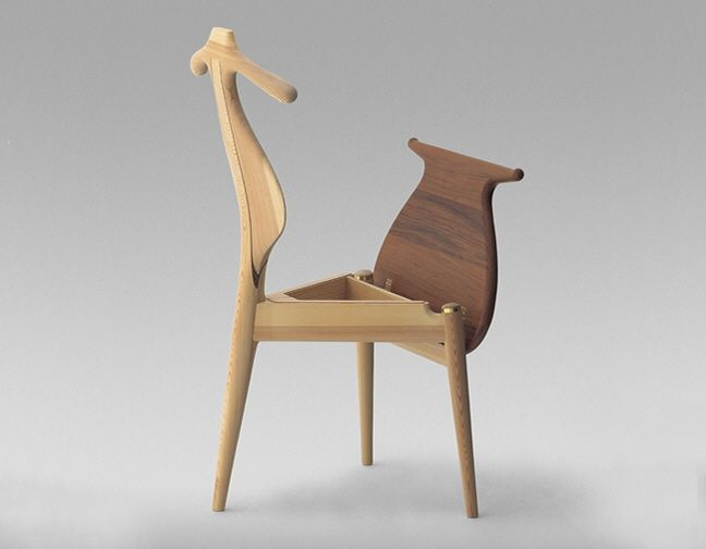 Classic, Practical Furniture Design: Hans Wegner's Valet Chair - Core77
