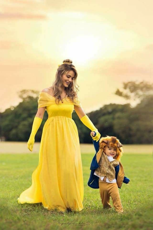 Pin by Ambrieana_ Lovely on Halloween*   Mother son halloween costumes, Mom  toddler halloween costumes, Baby first halloween costume