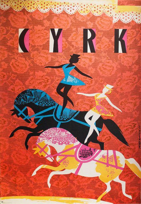 Polish Poster Cyrk