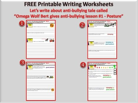 the 25 best bullying worksheets ideas on pinterest teen bullying anti bullying month and. Black Bedroom Furniture Sets. Home Design Ideas