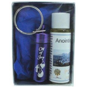 Anointing Oil & Key Vial Gift Pack - Rose Galilee - Purple | AOVGP