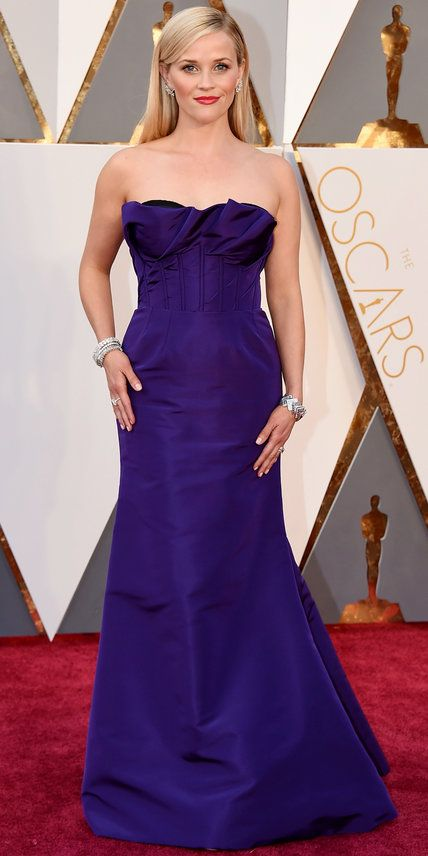 2016 Oscars Red Carpet Photos - Reese Witherspoon - from InStyle.com