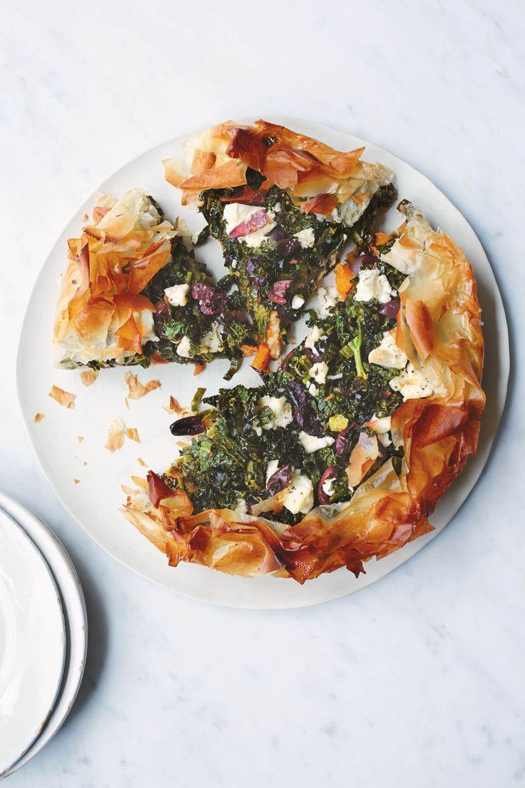 Frying Pan Squash And Cavolo Nero Pie - Anna Jones