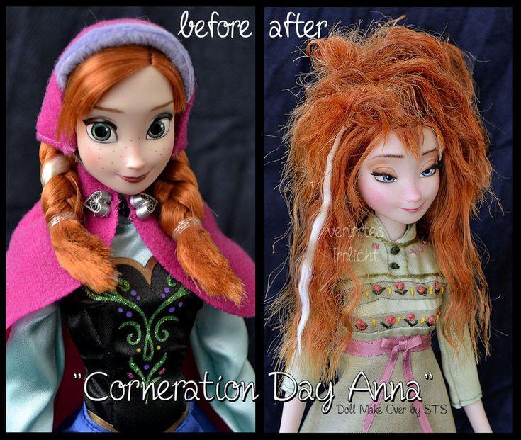 repainted ooak corneration day sleepy anna doll. by verirrtesIrrlicht.deviantart.com on @DeviantArt