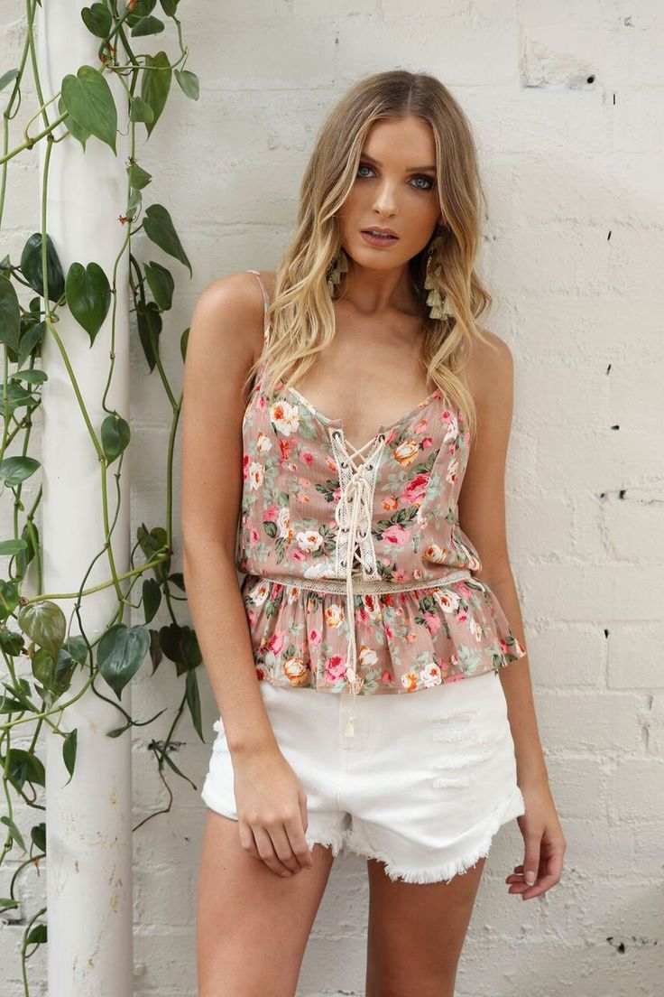 Madison Square Clothing - Maison Floral Cami