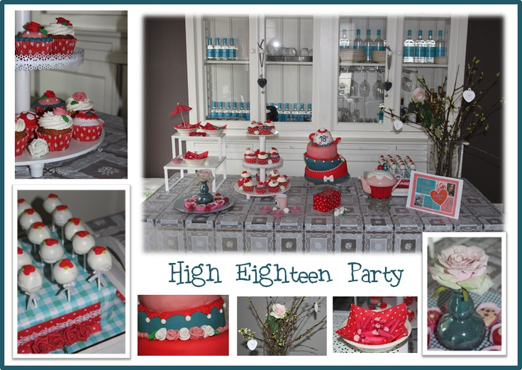 Sweet Table & High Eighteen Party