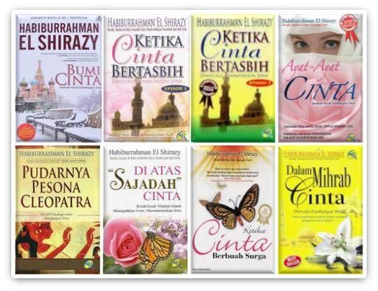Habiburrahman El Shirazy...Wonderful and Powerful Books to Read