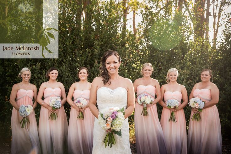 Summer weddings mean hydrangeas and pastel pretties. Love! www.jademcintoshflowers.com.au www.thierryboudinphotography.com