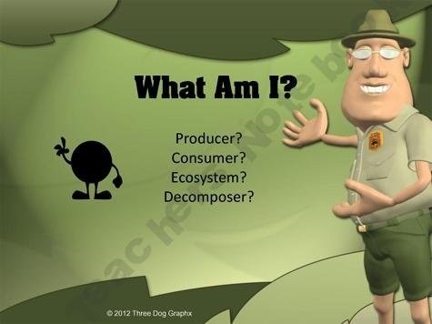 Ecosystem Producer Consumer or Decomposer? Powerpoint product from Teacher Tom on TeachersNotebook.com