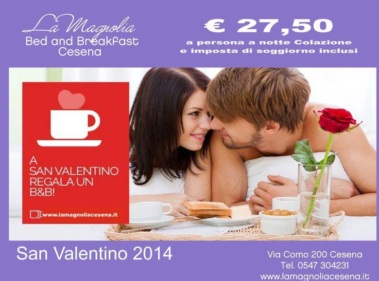 Per San Valentino regalati un Bed and Breakfast in Romagna a 10 km da Cesenatico e Milano Marittima