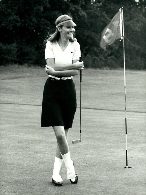 Vintage Lacoste Golf Shooting - 70's From the Lacoste S.A. Archives. © All Rights Reserved