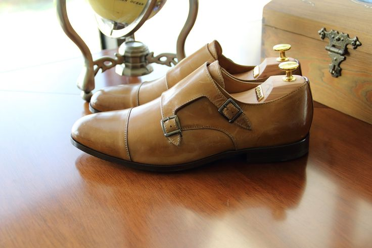 Light brown leather monks. #genuineleather #monkshoes #spring2016 #handmade