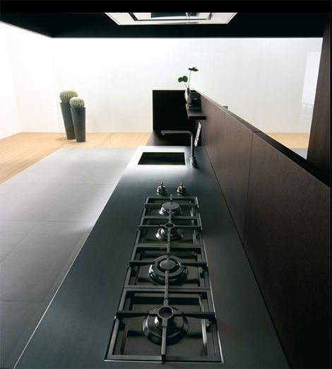 The Dark Wood And Tall Stature Iconic Kitchen Design By Binova 8211 The New Modus Kitchen