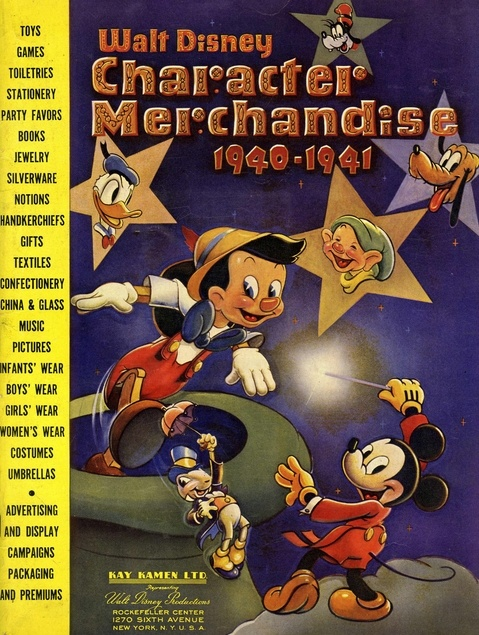 Walt Disney Character Merchandise Catalog 19401941 Walt
