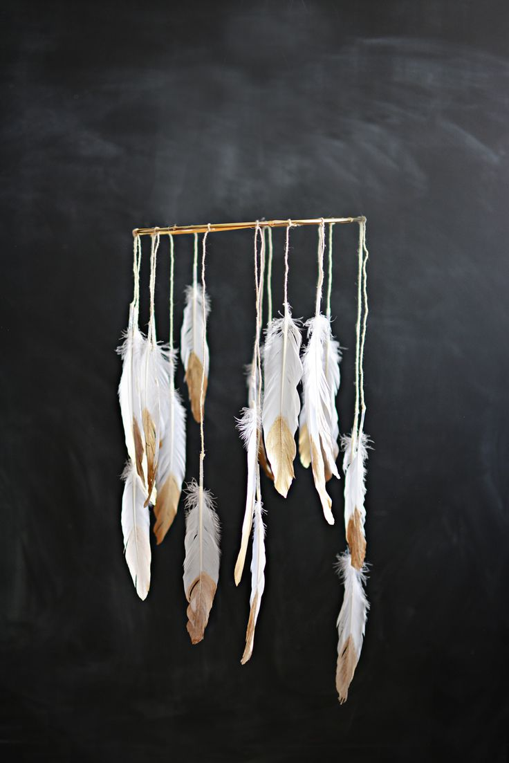 Blog post at Little Inspiration : I'm over at the Land of Nod's Honest blog, showing you how to make this easy and beautiful golden dream-catcher mobile. Super easy and fun t[..]