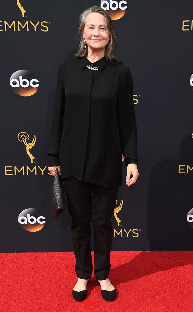Cherry Jones from 2016 Emmys Red Carpet Arrivals