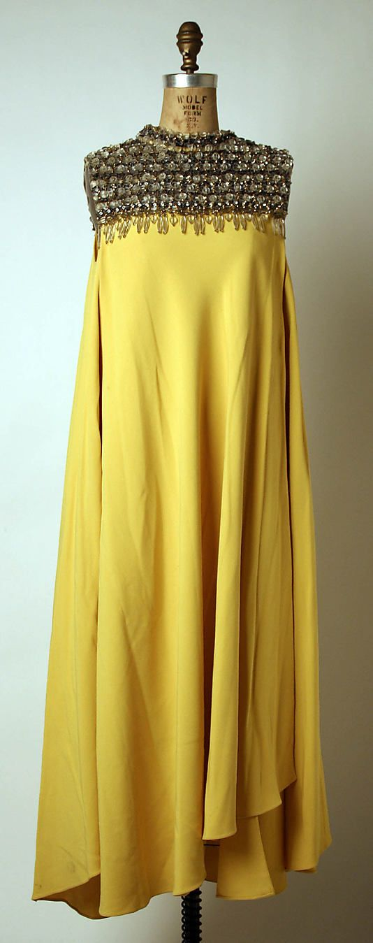 Dress, Evening - Madame Gres - French