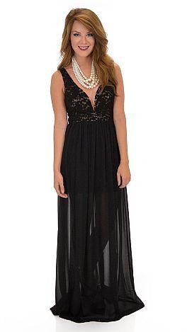 Black Tie Affair Dress :: NEW ARRIVALS :: The Blue Door Boutique