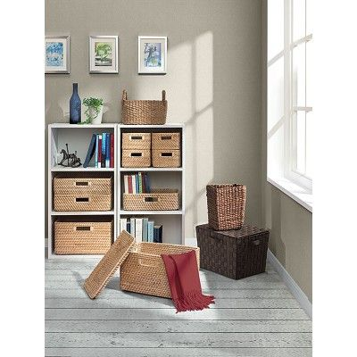 Stackable Rattan Boxes  aki home. 9 best Home Office images on Pinterest   Home office  Blog tips
