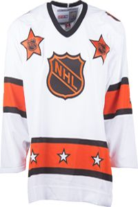 NHL All-Star CCM Vintage 1981 White Replica NHL Hockey Jersey