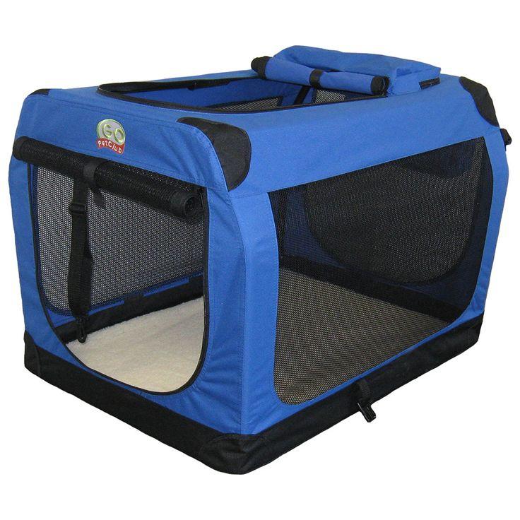 Go Pet Club 48-inch Soft Folding Dog Crate House