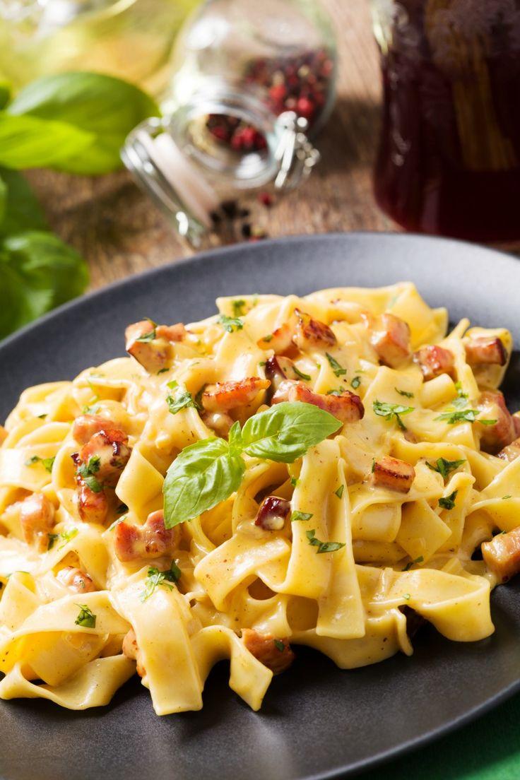 Pasta Carbonara Recipe Dinner Lunch Divine Lifestyle