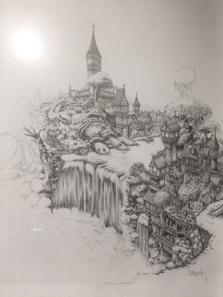 Village from the wreck #2