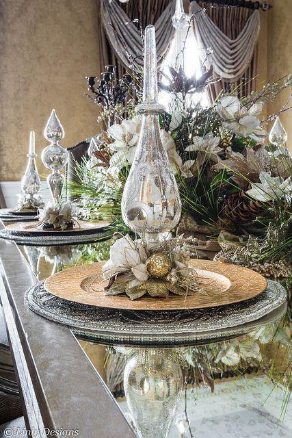 Centro de mesa perfecto para navidad 2017 2018 navidad - Centros de mesa navidad ...