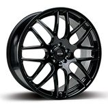 "RIVA DTM in Gloss Black Specification: Size: 18"" x Width:7.5J, 8.0J, 8.5J Fitment: 4 OR 5 stud only  PRICE, SET OF 4 £432"