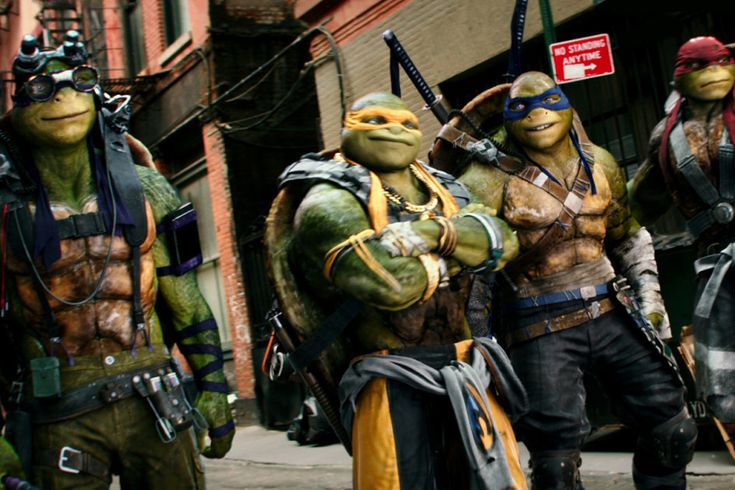 Design artwork for Teenage Mutant Ninja Turtles: Out of the Shadows