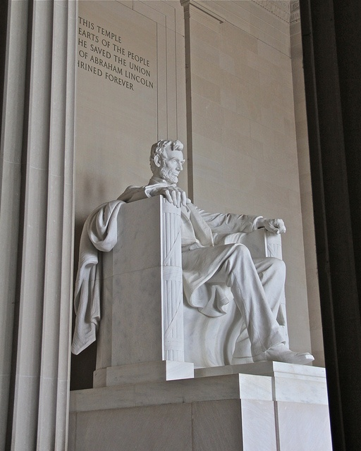 Abraham Lincoln. For his presidency and speeches.