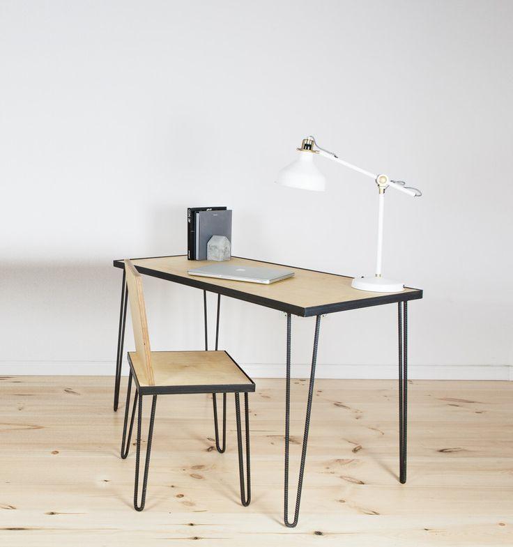 14 besten handmade furniture bilder for Schreibtisch industriedesign