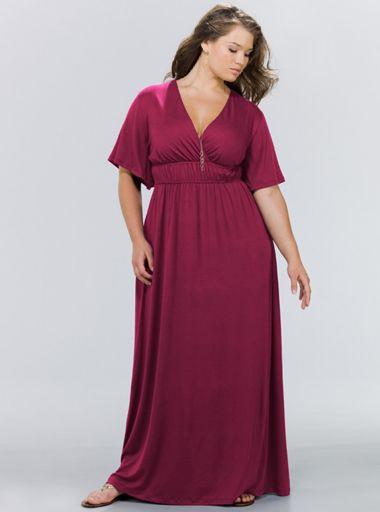 sears plus size womens dresses | Women Plus Size Maxi Dresses 2011