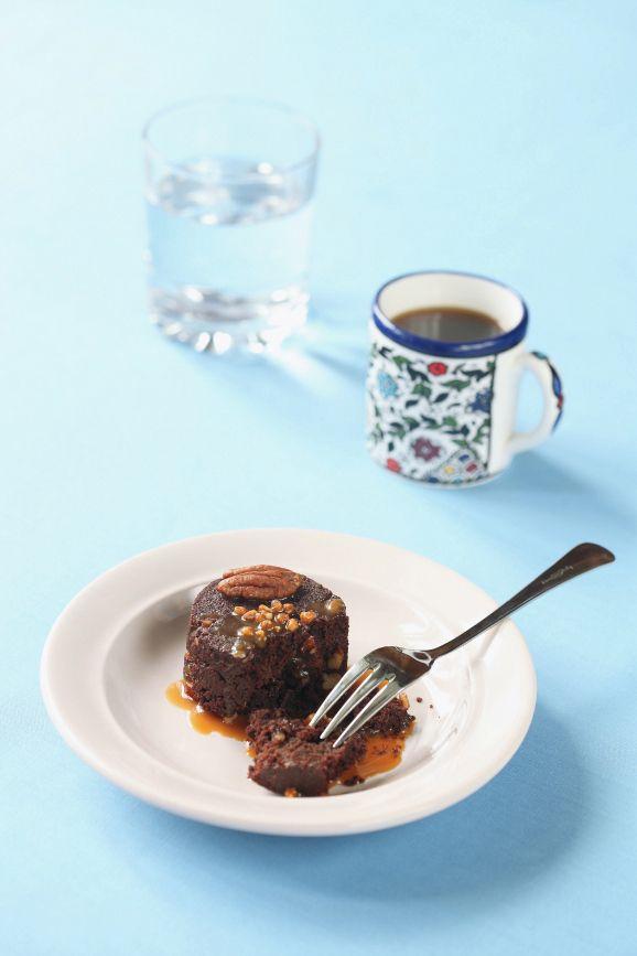 Verdade de sabor: Брауни с пеканом и карамелью / Brownies de noz-peçã com caramelo With translator