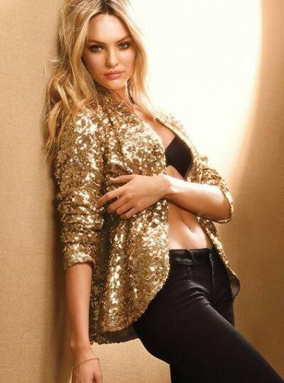 I want a sparkly jacket!