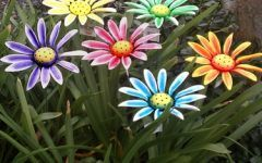 Garden Stake Decor Sunflower Garden Stakes / Wall Flower Decor (6 Pack) Only $49.99