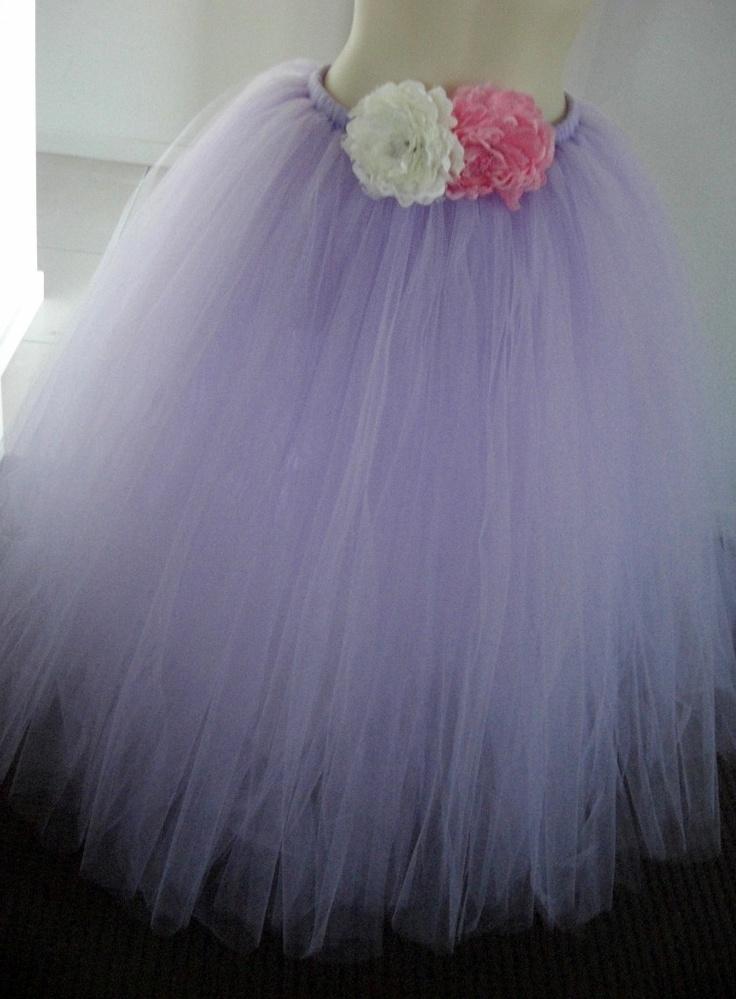 Full length Little Chiyo French Lavender Tutu