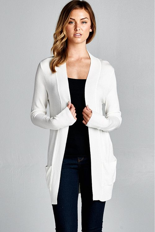This cardigan is perfect for so many occasions and at this price you should have one in every color!! Pair this with any basic V neck tee or graphic tank. 65% Cotton, 35% Polyester