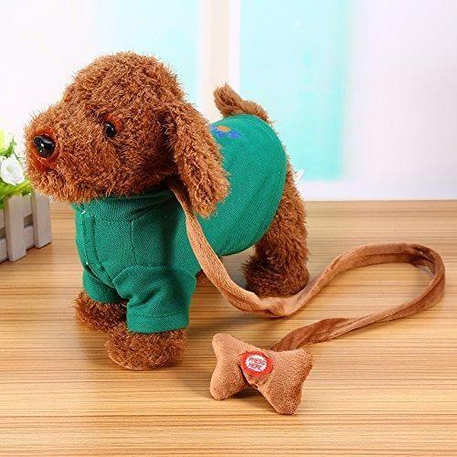 Oferta: 16.99€ Dto: -35%. Comprar Ofertas de Perro Mascota Electrónica Canto Caminar Musical Robot Electrónica Perro Juguetes Para Niño Bebé (Verde) barato. ¡Mira las ofertas!