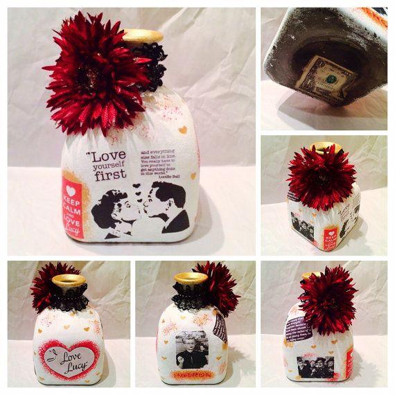I Love Lucy Edition Custom Made Coin Jar Large by WanderLustJars