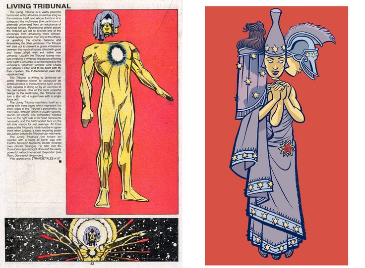 The Official Handbook to the Marvel Universe - REDUX Edition: THE LIVING TRIBUNAL by Joel Priddy